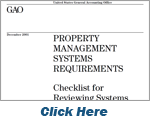 GAO Property Management Systems Requirements Checklist